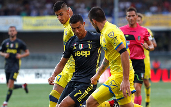 Ronaldo'lu Juventus öldü öldü dirildi