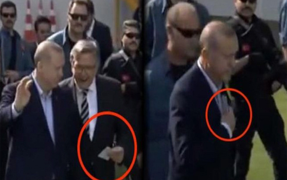 Mehmet Keskinoğlu'dan Erdoğan'a yardım notu!..