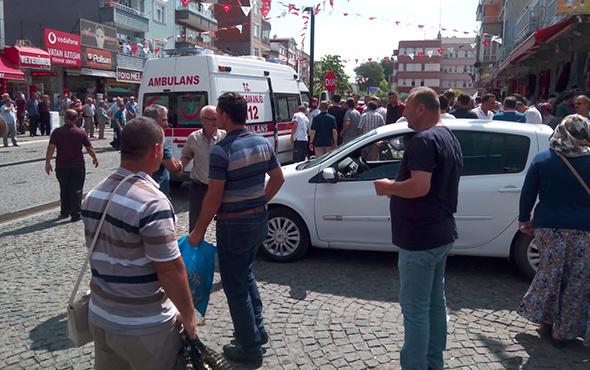 100 kişi birbirine girdi; ilçe meydanı karıştı: Çok sayıda yaralı var!