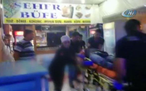 Büfeye pompalı tüfekle ateş açtılar: 1 ölü 2 yaralı