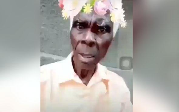 Snap filtresine sinirlenen asabi adam