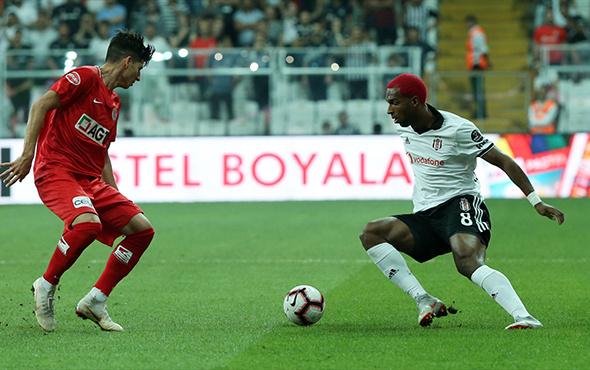 Beşiktaş Antalyaspor maçı fotoğrafları