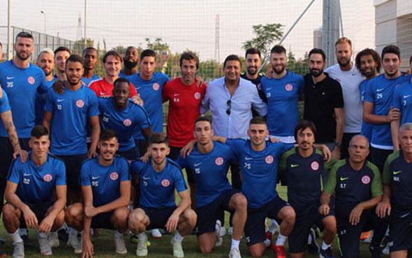 Antalyaspor'da yeniden Ali Şafak Öztürk dönemi