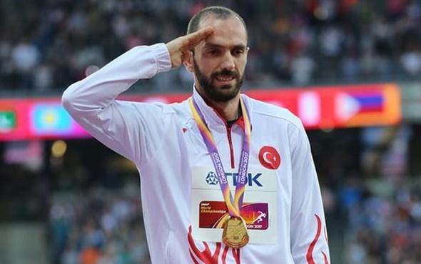 Ramil Guliyev'in hedefi Olimpiyat'ta altın madalya almak