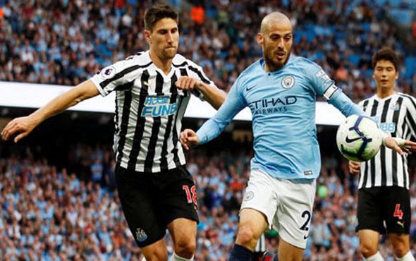 Manchester City Newcastle United'ı yıktı
