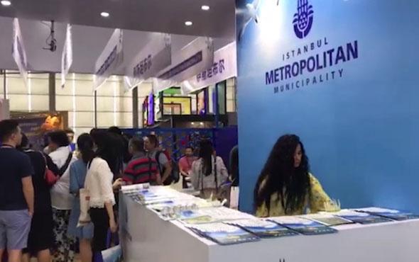 İstanbul Büyükşehir Belediyesi Çin Turizm Fuarı'nın en iyisi seçildi