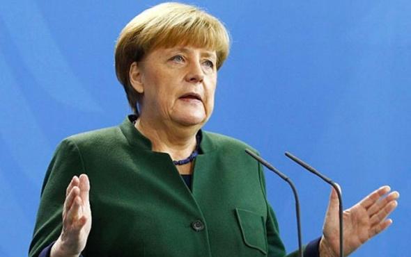 Angela Merkel'den Türkiye açıklaması!