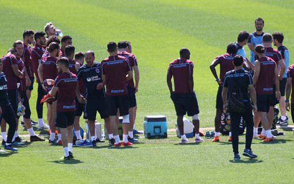 Trabzonspor'da Alanyaspor maçı hazırlıkları sürdü