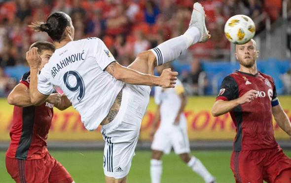 Ibrahimovic'ten enfes gol