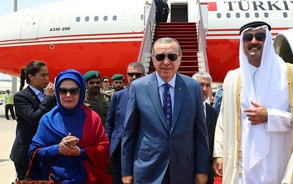 Erdoğan hediye VIP uçağı açıkladı! Meğer Katar Emiri duyunca...