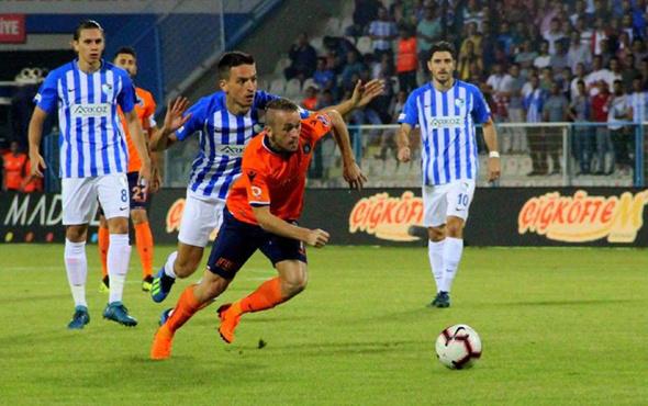 Erzurumspor Başakşehir maçı golü ve özeti