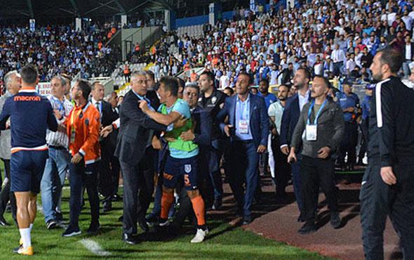 Emre Belözoğlu Erzurumspor yöneticisine vurdu