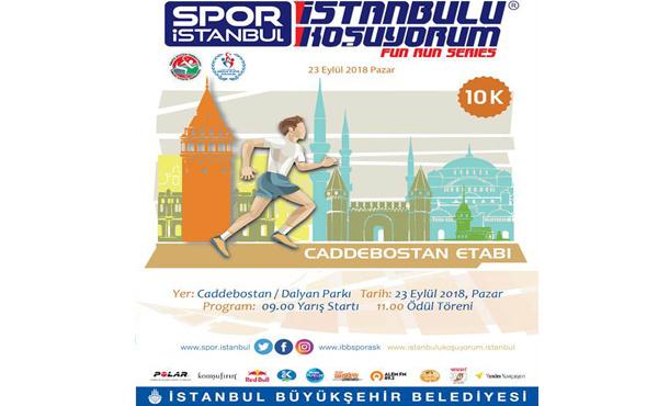 'İstanbul'u Koşuyorum' heyecanı Caddebostan'da!