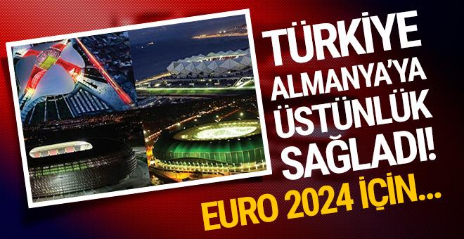 Türkiye stadyumlarıyla Almanya'yı geçti! EURO 2024 için...