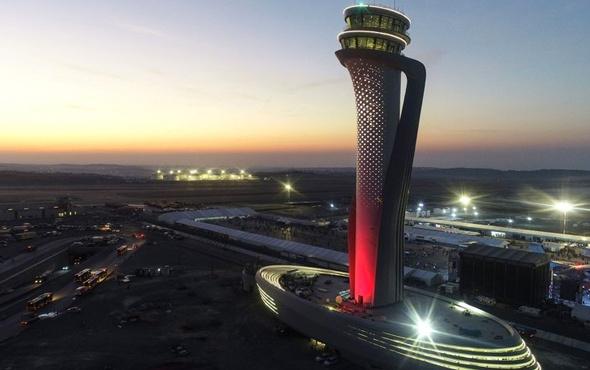 3. Havalimanındaki müthiş sistemi bakan açıkladı