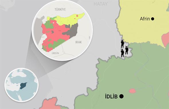 İdlib'deki terör grupları 20 bine yakın militan İdlib'de savaşıyor