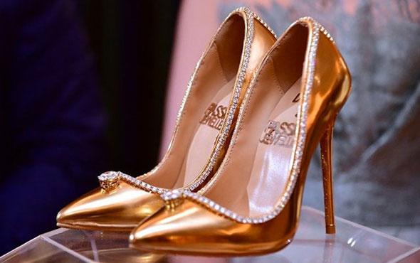 İşte dünyanın en pahalı ayakkabısı! 36 numara ve fiyatı dudak uçuklatıyor
