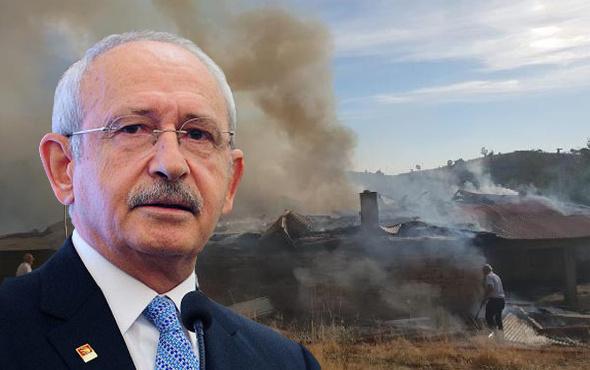Kılıçdaroğlu'nun doğduğu ev kül oldu