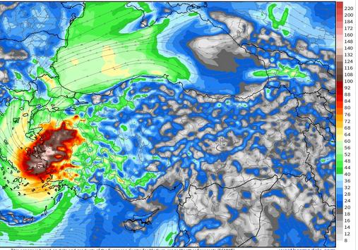 İzmir ve Ege'nin kıyılarında Kırbaç Kasırgası alarmı! Meteroloji uyardı