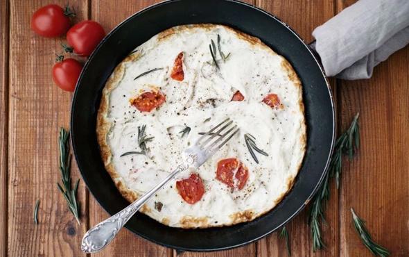 Kahvaltı için beyaz omlet tarifi