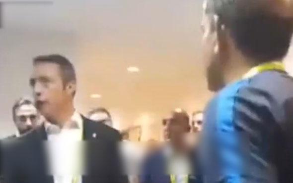 Ali Koç Kayserispor maçı sonrasında soyunma odasına indi