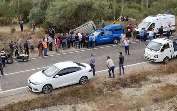 MHP'li başkan trafik kazasında hayatını kaybetti