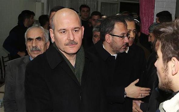 Süleyman Soylu'dan taziye ziyareti
