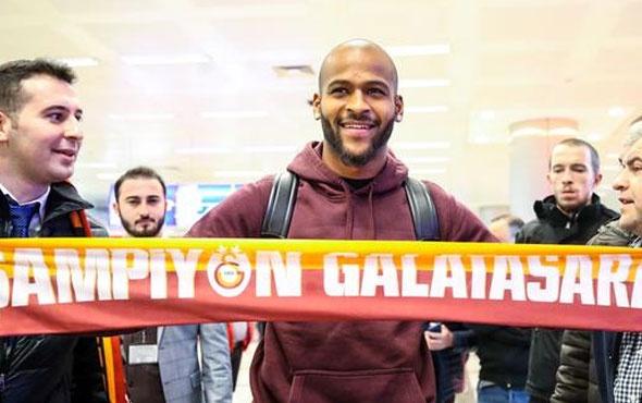 Galatasaray'ın yeni transferi Marcao İstanbul'da!
