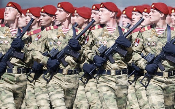"""Rus ordusu 21,5 milyar dolara """"donatılacak"""""""