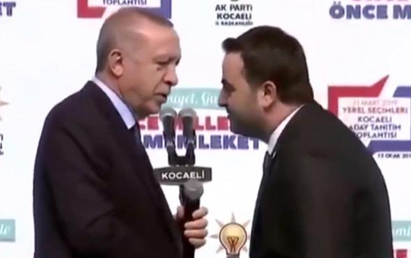 Erdoğan'dan başkan adayına: Yasin niye senin bıyık yok?