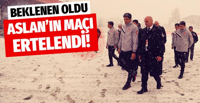 Boluspor - Galatasaray maçı ertelendi! İşte son durum...