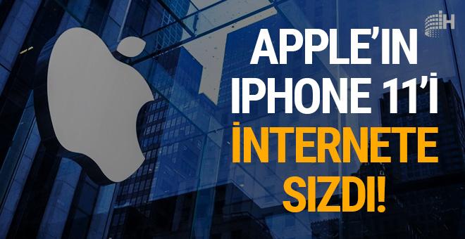 Apple'ın iPhone 11'i internete sızdı!