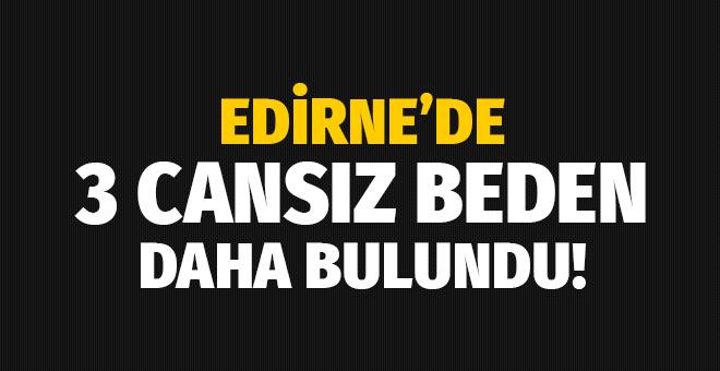 Edirne'de 3 cansız beden daha bulundu!