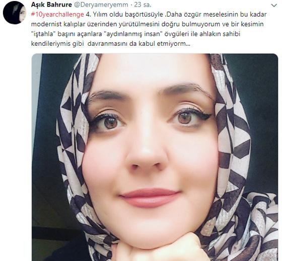 İşte Türkiye'nin konuştuğu o başörtüsü paylaşımları