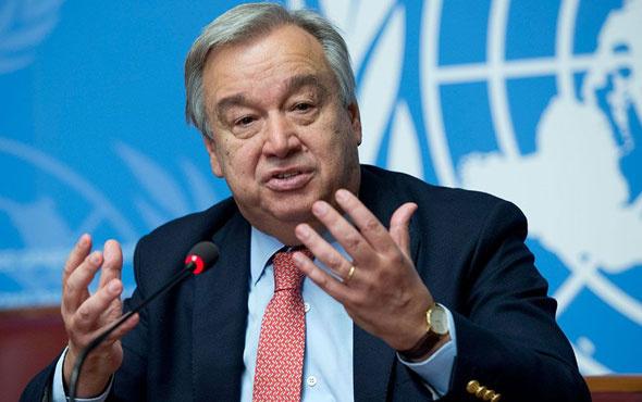 BM Genel Sekreteri Guterres'ten 'güvenli bölge' açıklaması