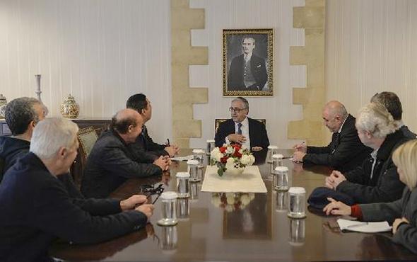 KKTC Cumhurbaşkanı Akıncı'nın paylaştığı fotoğraf olay oldu
