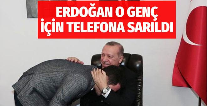 Cumhurbaşkanı Erdoğan genç doktor için kız istedi