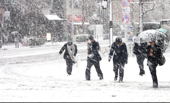 Hava durumu İstanbul için geri sayım kar göründü!