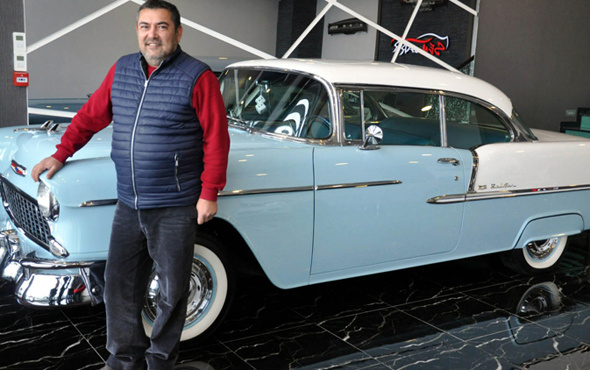 32 bin liraya aldığı otomobili yeniledi 400 bin liraya satışa çıkardı
