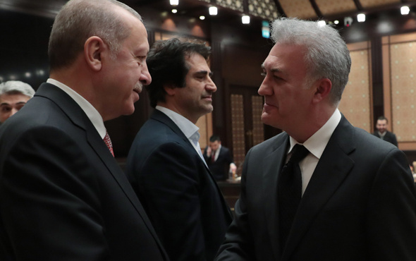 Cumhurbaşkanı Erdoğan Beştepe´de sinema temsilcilerini kabul etti