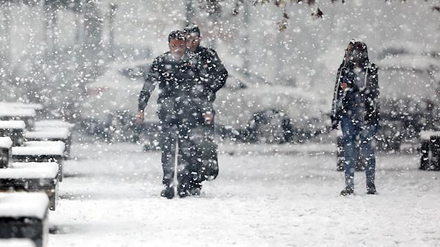 AKOM uyardı İBB alarmda İstanbul'da kar fırtınası