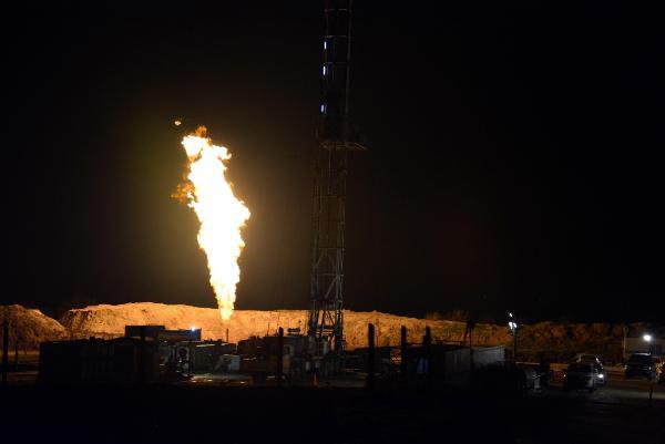 Bakan doğal gaz müjdesini vermişti: İşte ilk görüntüler!