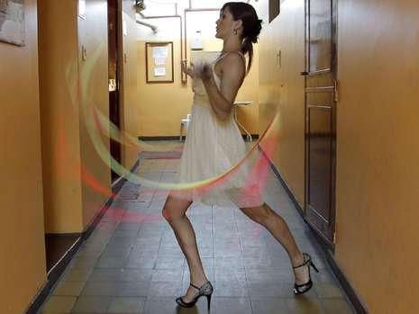 Arjantin'de striptizciler yarıştı