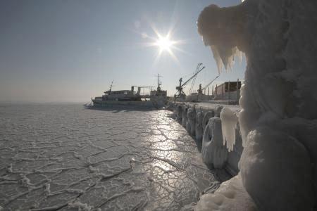 Karadeniz bile dondu