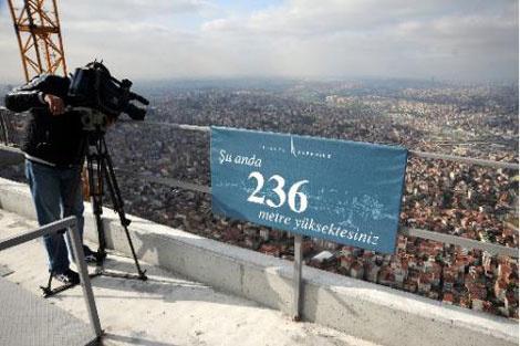 Avrupa'nın en yüksek binası İstanbul'da