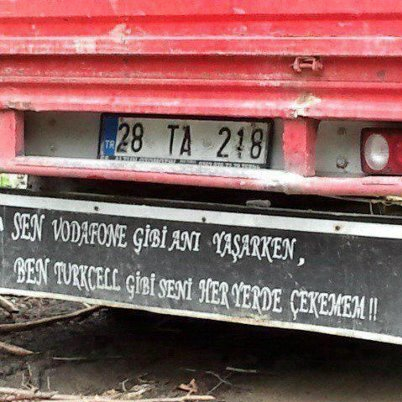 En komik kamyon arkası yazıları