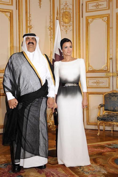 Katar Emiri'nin karısını gördünüz mü?