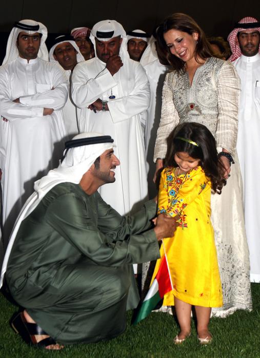 Princess haya wedding