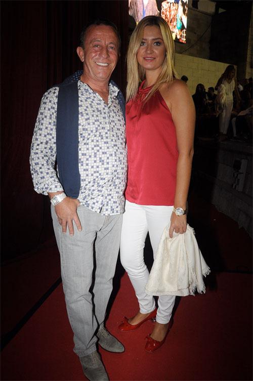 Ali Ağaoğlu ve sevgilisi Petek Ertüre