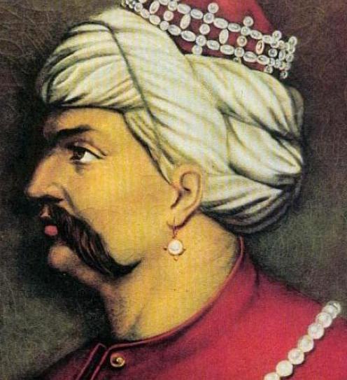 Küpeli padişah Yavuz Sultan Selim